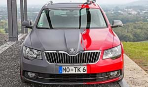 Two-Face Skoda Superb от ОК-Chiptuning